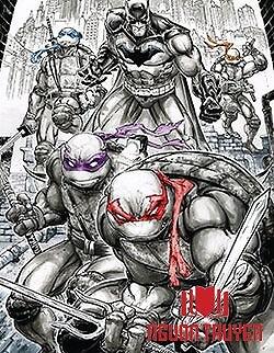 Batman - Ninja Rùa - Batman - Ninja Rua