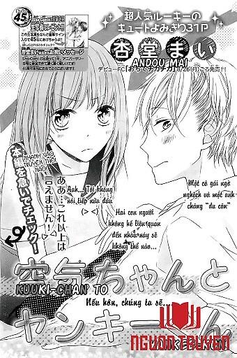 Kuuki-Chan To Yankee-Kun - 'girl With No Presence' And 'yankee Guy'