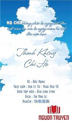 Thanh Không Chi Hạ - Thanh Khong Chi Ha